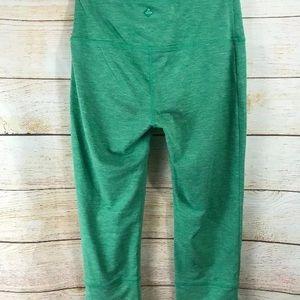 Prank Tori Small Capri Cropped Leggings Green